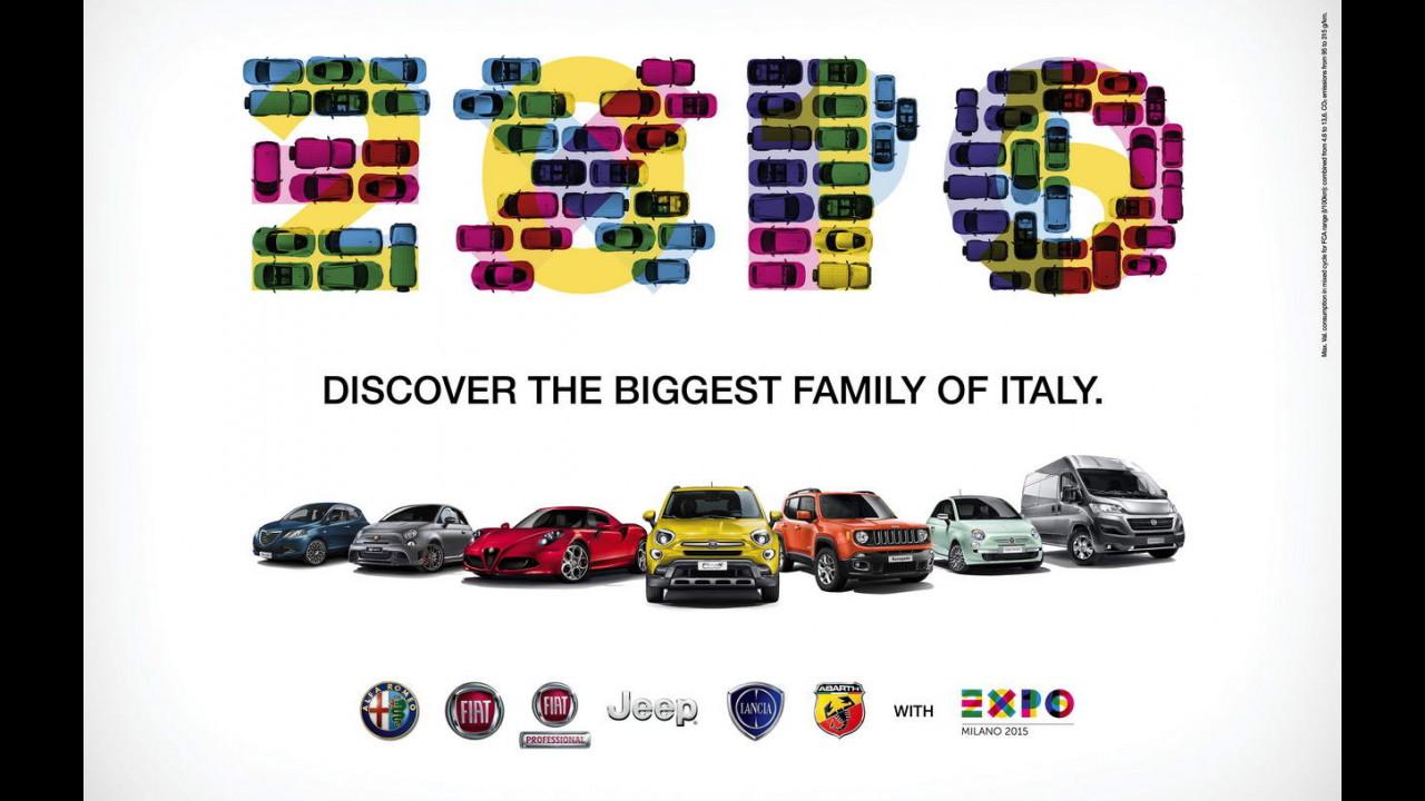 EXPO Milano 2015, il benvenuto FCA
