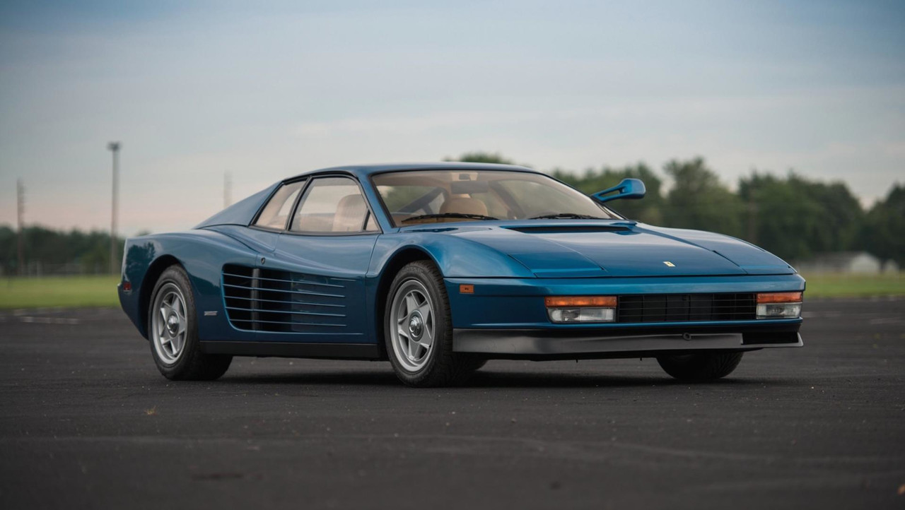 1986 Ferrari Testarossa Auction