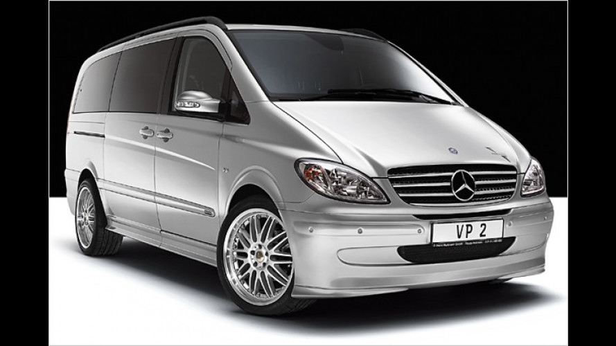 Hartmann verschärft die großen Familienvans von Mercedes