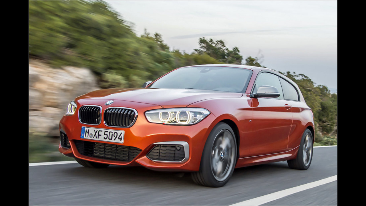 BMW M135i xDrive: 4,7 Sekunden