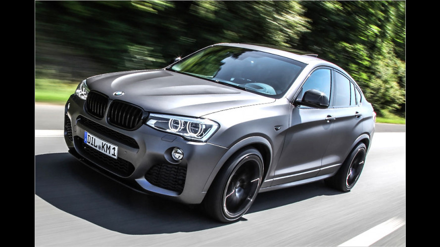 Mehr Muskeln für den BMW X4