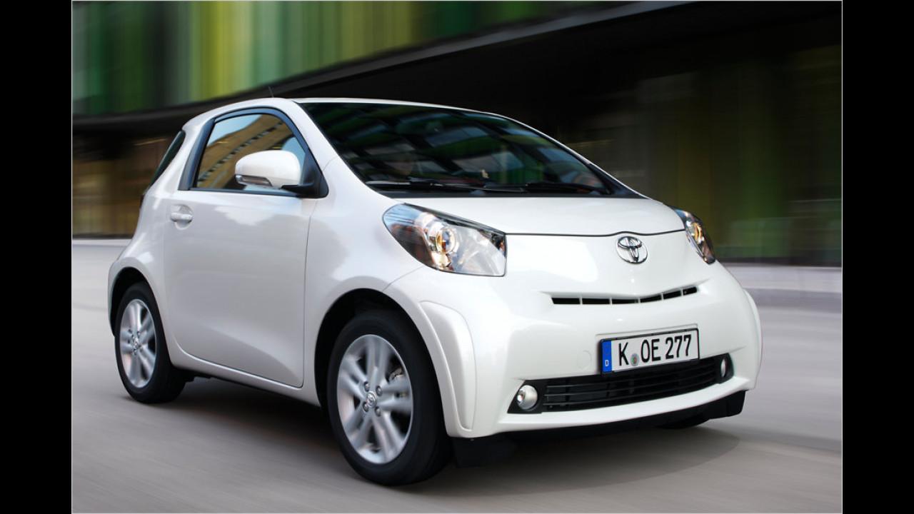VCD Auto-Umweltliste, Platz 4: Toyota iQ 1.0 VVT-i, 7,43 Punkte