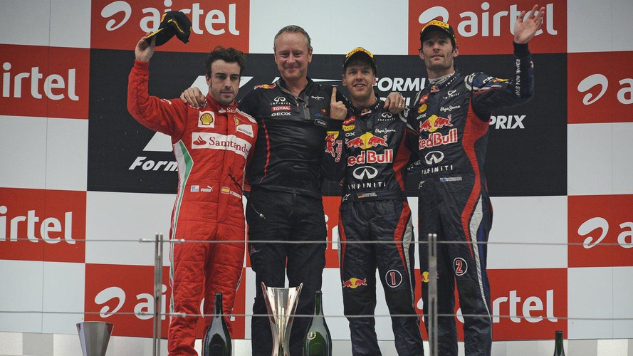2012 Indian Grand Prix - RESULTS