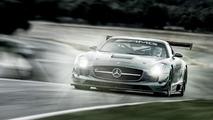 Mercedes SLS AMG GT3 45th Anniversary Edition 22.10.2012
