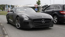 2013 Mercedes SLS AMG Black Series spy photo - 13.06.2012
