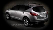 Antes do lançamento - Nissan Murano 2009