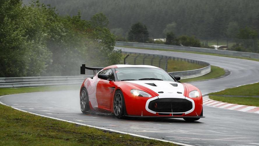 Aston Martin V12 Zagato racing prototypes ready for action [video]