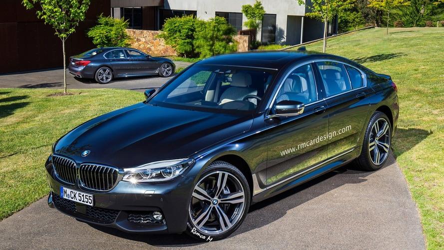 2016 BMW 5-Series render looks promising