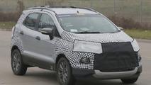 Ford EcoSport facelift spy photo
