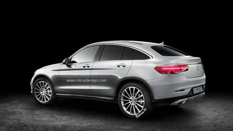 Mercedes-Benz GLC Coupe render is probably very close to reality