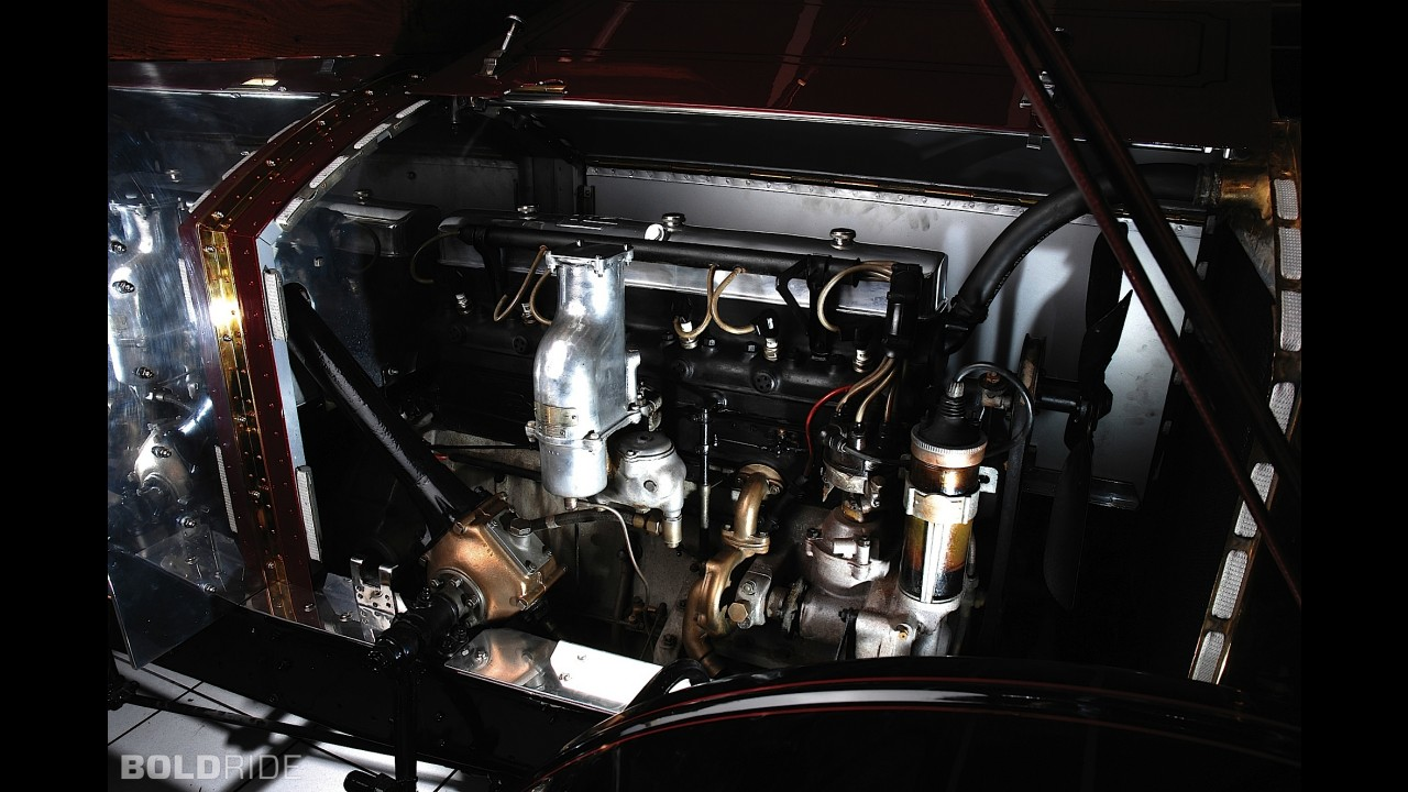 Rolls-Royce 20/25 Balloon Car Sports Roadster
