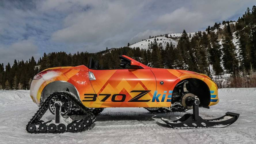 Nissan 370Zki, le roadster des neiges