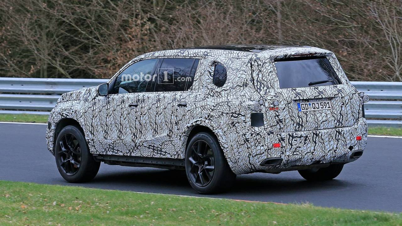 2019 Mercedes Benz Gls Spy Photos Photo