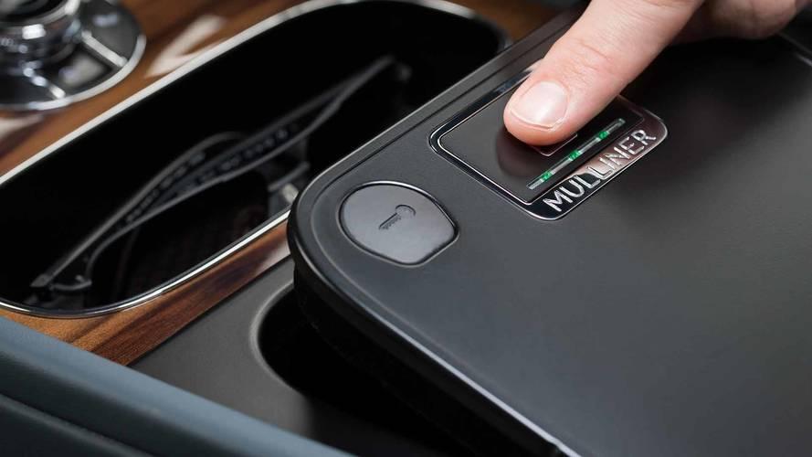 Le Bentley Bentayga reçoit un lecteur d'empreinte digitale