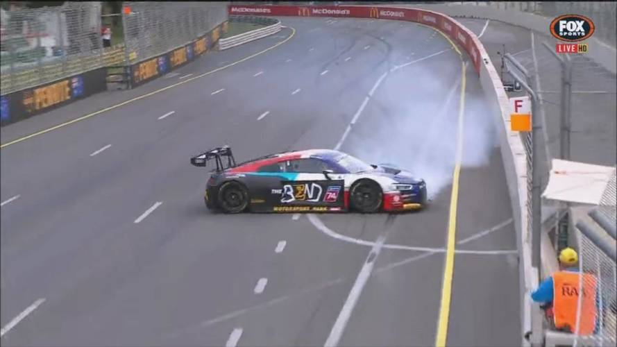 Audi R8 Racer Completes Amazing Double Spin Without Crashing