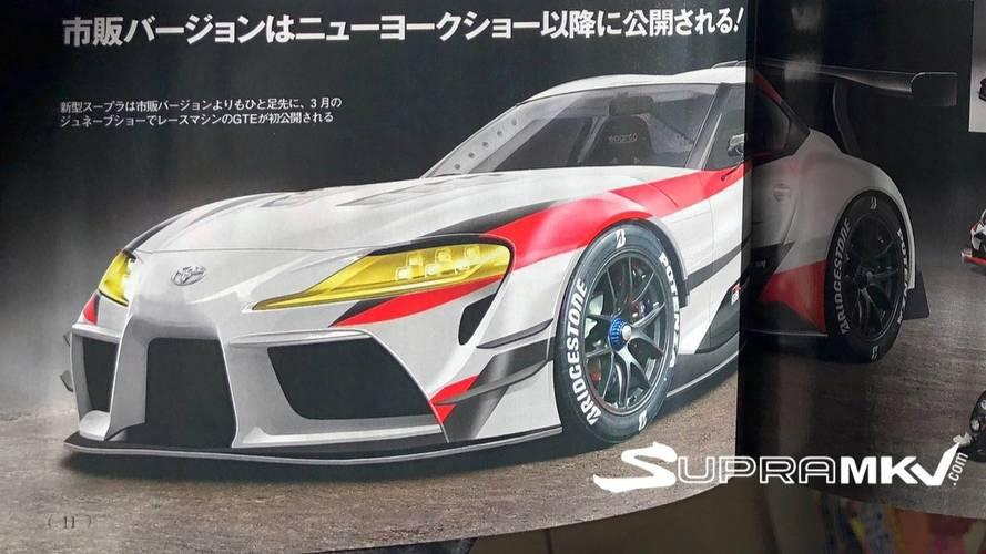 Toyota Supra - kiszivárgott a gép?