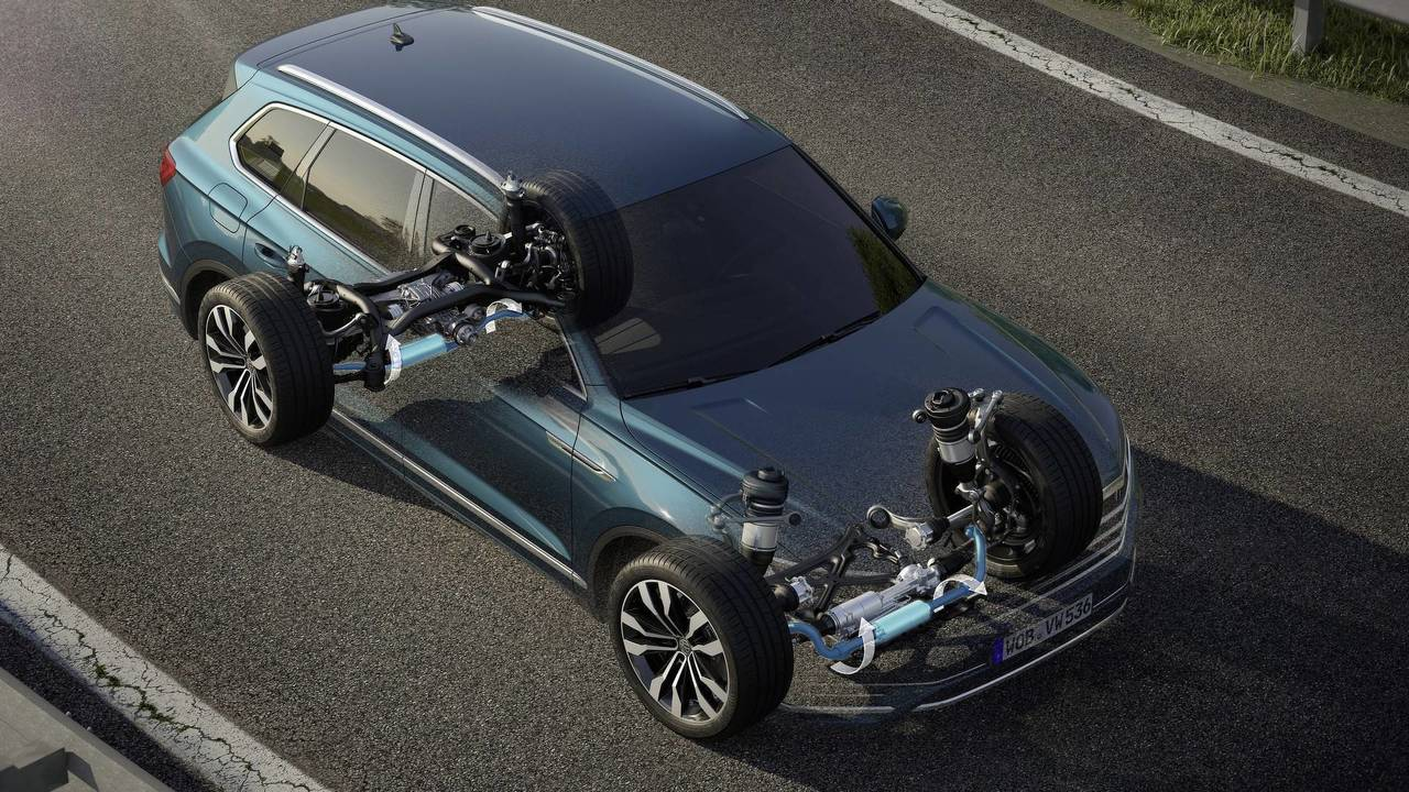 2019 VW Touareg - Electromechanical anti-roll bars