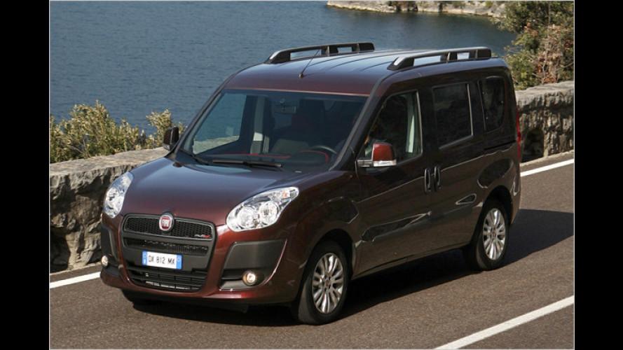 Ab 15.450 Euro: Preise für den neuen Fiat Doblò fix