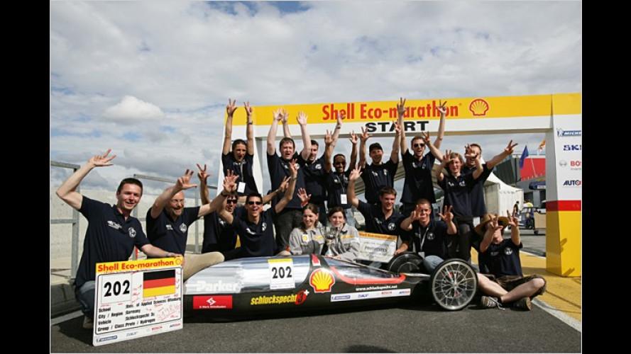 Deutsche Teams beim Shell Eco-Marathon erfolgreich