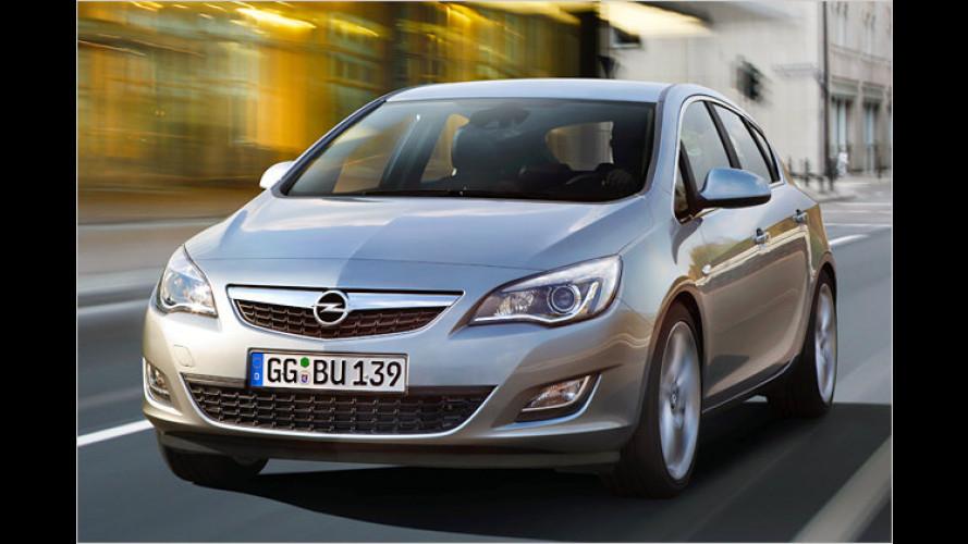 Neuer Opel Astra: Günstige Kostengestaltung
