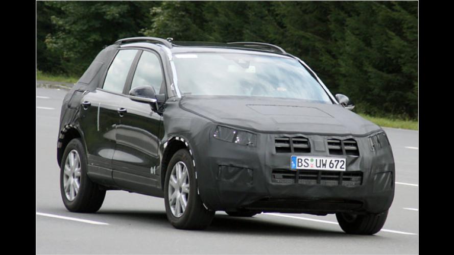 Erwischt: Der neue VW Touareg gibt mehr Details preis