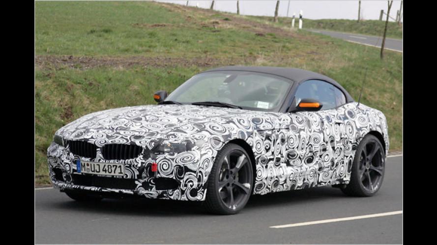 BMW Z4 Erlkönig: Kommt die Blechmütze für 2009?