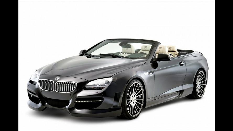 Gegen den Auftrieb: BMW 6er Cabrio von Hamann