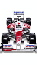 2009 Panasonic Toyota TF109 Formula 1 Car