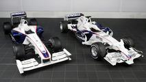 BMW Sauber F1.09 and BMW Sauber F1.08