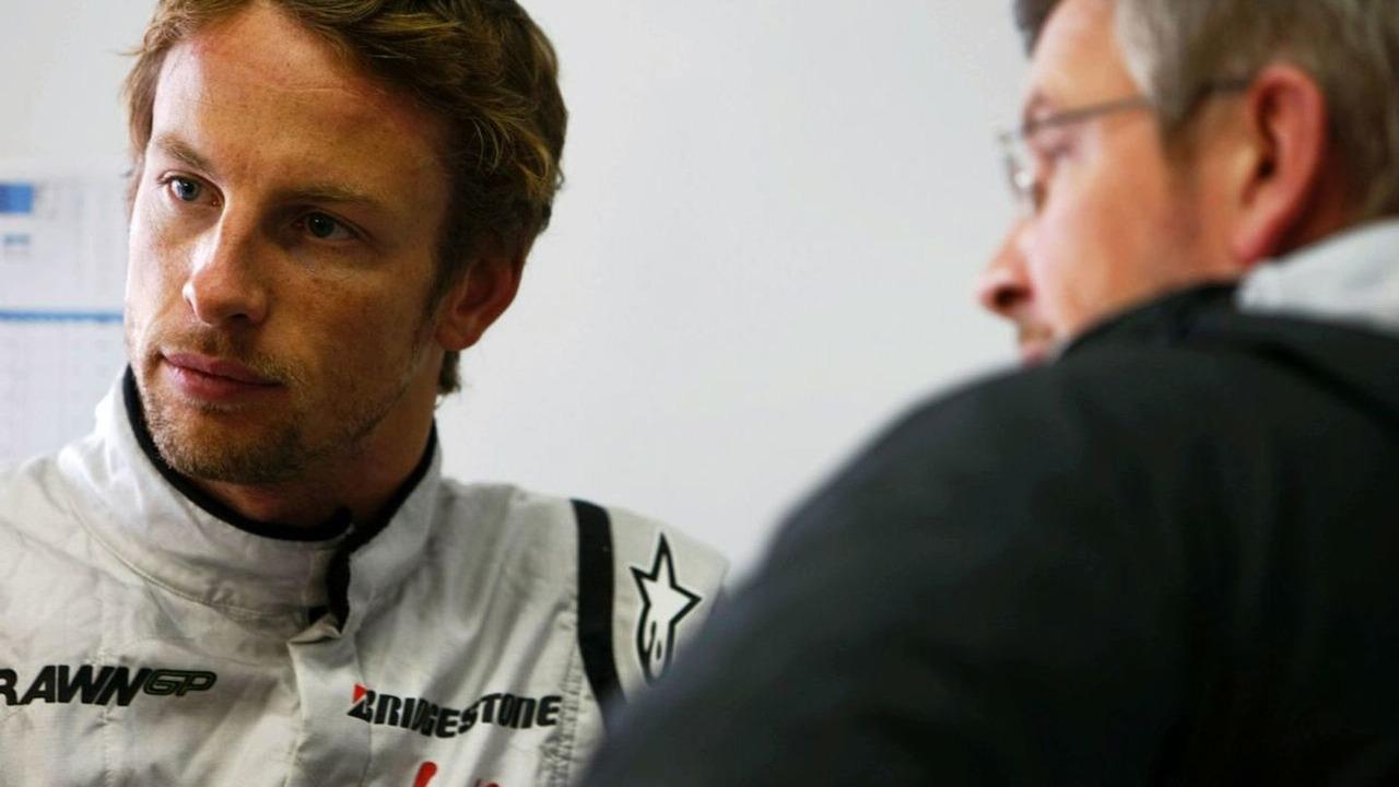 Ross Brawn & Jenson Button