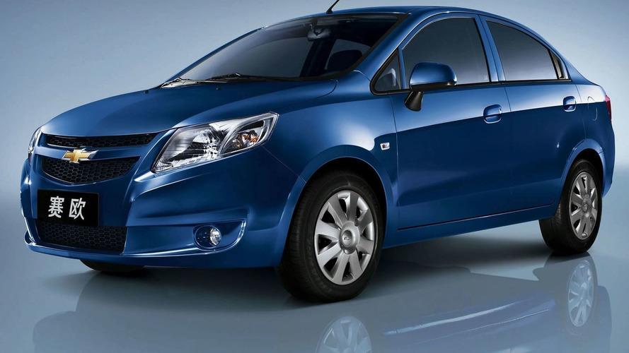Chevrolet Sail Small Car Unveiled by Shanghai GM