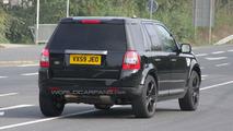 Land Rover LRX Test Mule Spy Photo