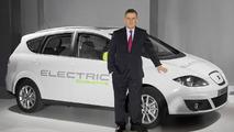 Seat Altea XL Electric Ecomotive unveiled