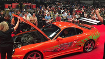 Paul Walker's Toyota Supra from Fast and Furious fetches $185,000
