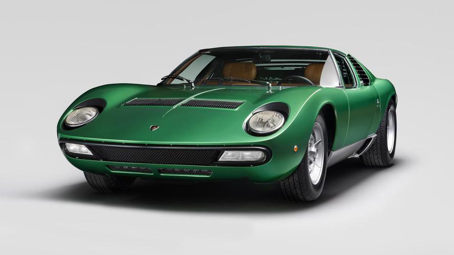 Les Lamborghini Centenario, Miura Roadster et Diablo VT exposées au Royaume-Uni