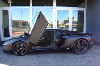 Kanye West Might Have Just Sold His Matte Black Aventador