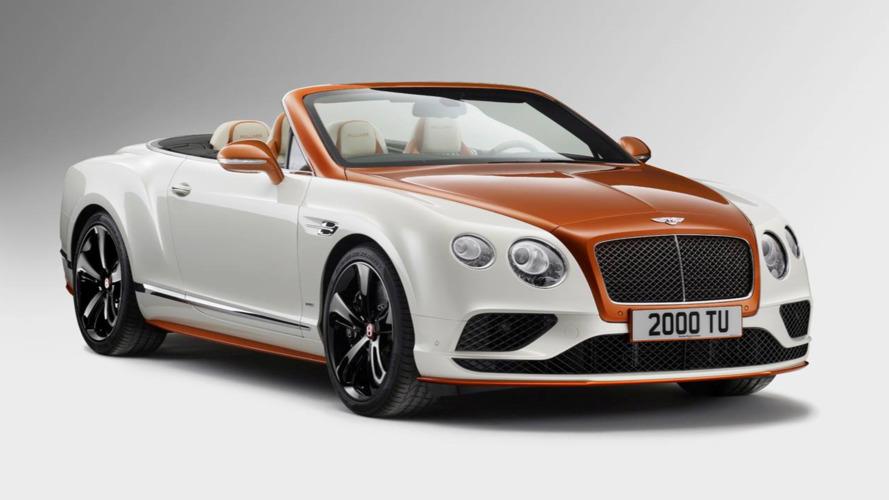 One-off Bentley Continenal GT has orange carbon fibre