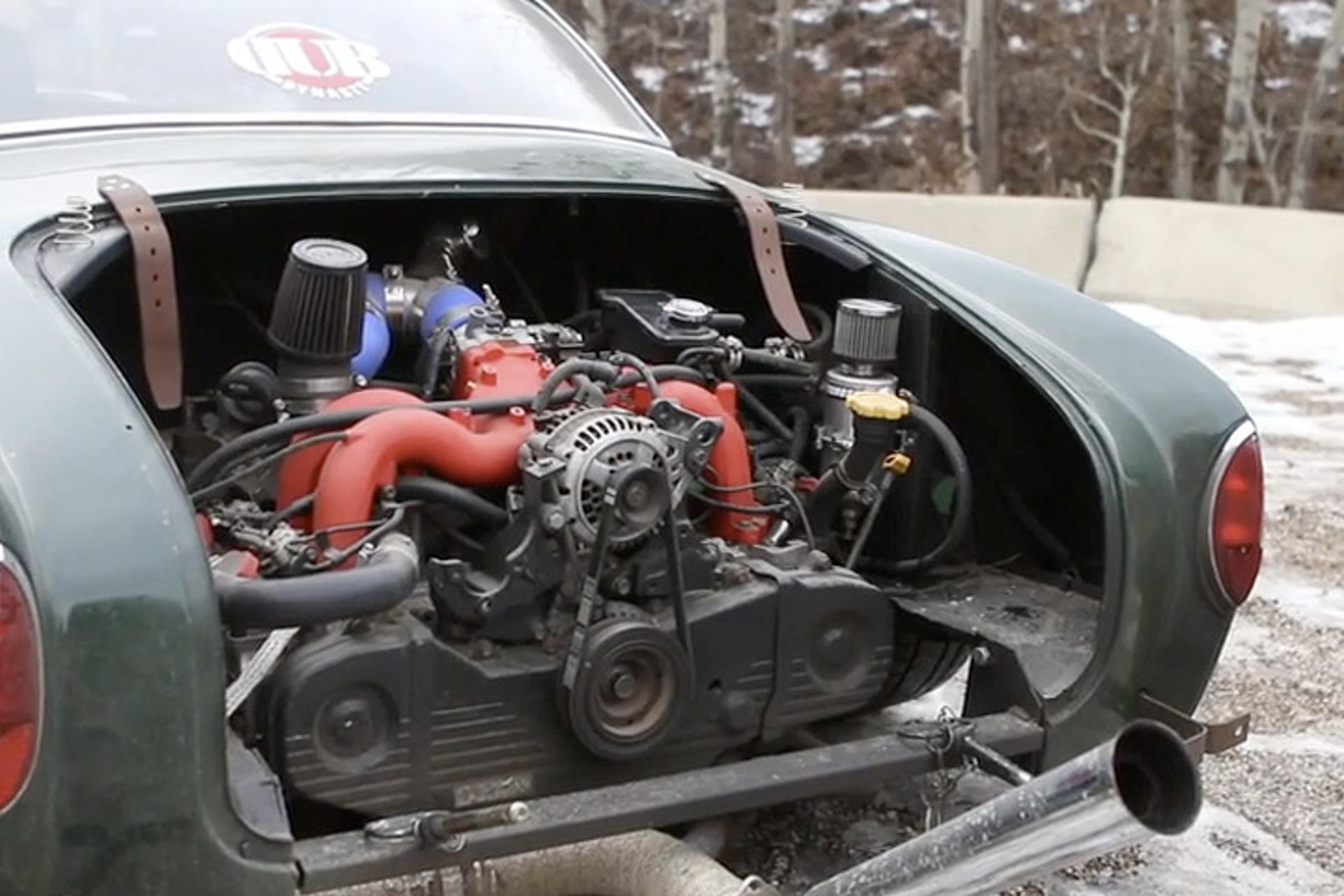 Subaru Swapped Karmann Ghia Is One Cool Daily Driver