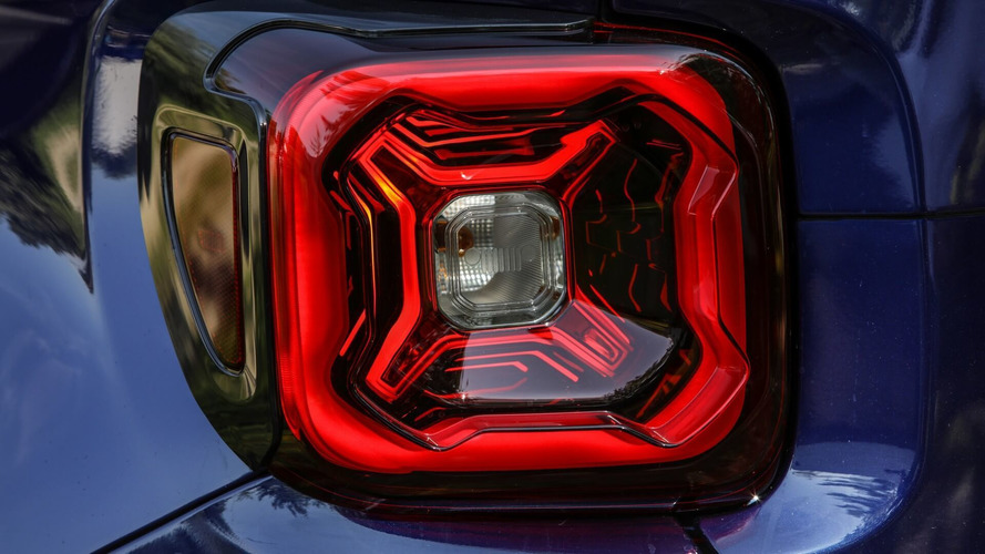 Première image du Jeep Renegade restylé