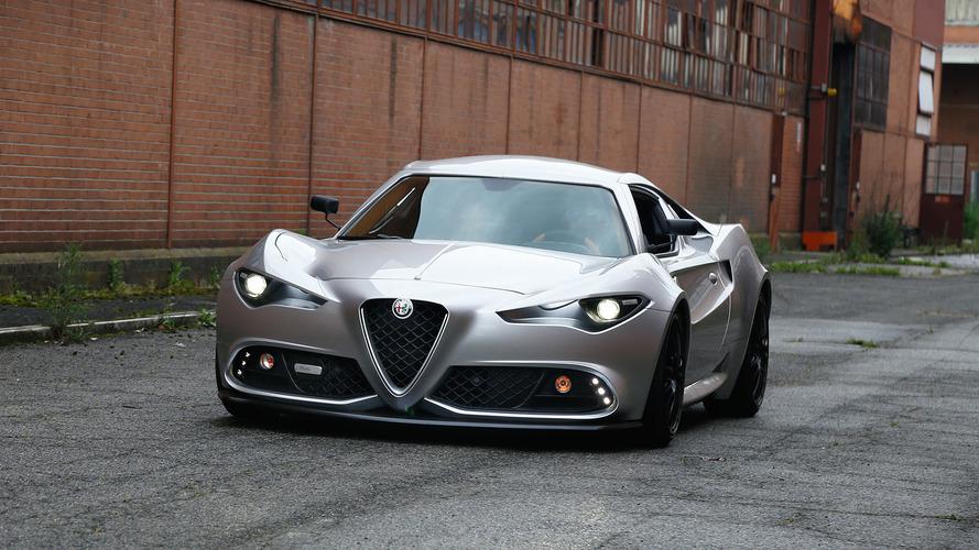 Alfa 4C, güncel bir tasarım ile hazırlansaydı böyle görünebilirdi