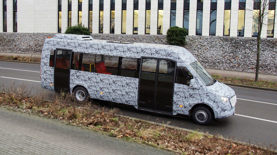 Mercedes Puts Camouflage Even On Next-Gen Minibus