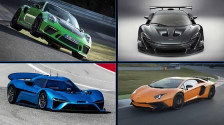 DIAPORAMA - Les 10 voitures les plus rapides sur la Nordschleife