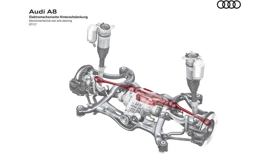Audi A8 steering diagram