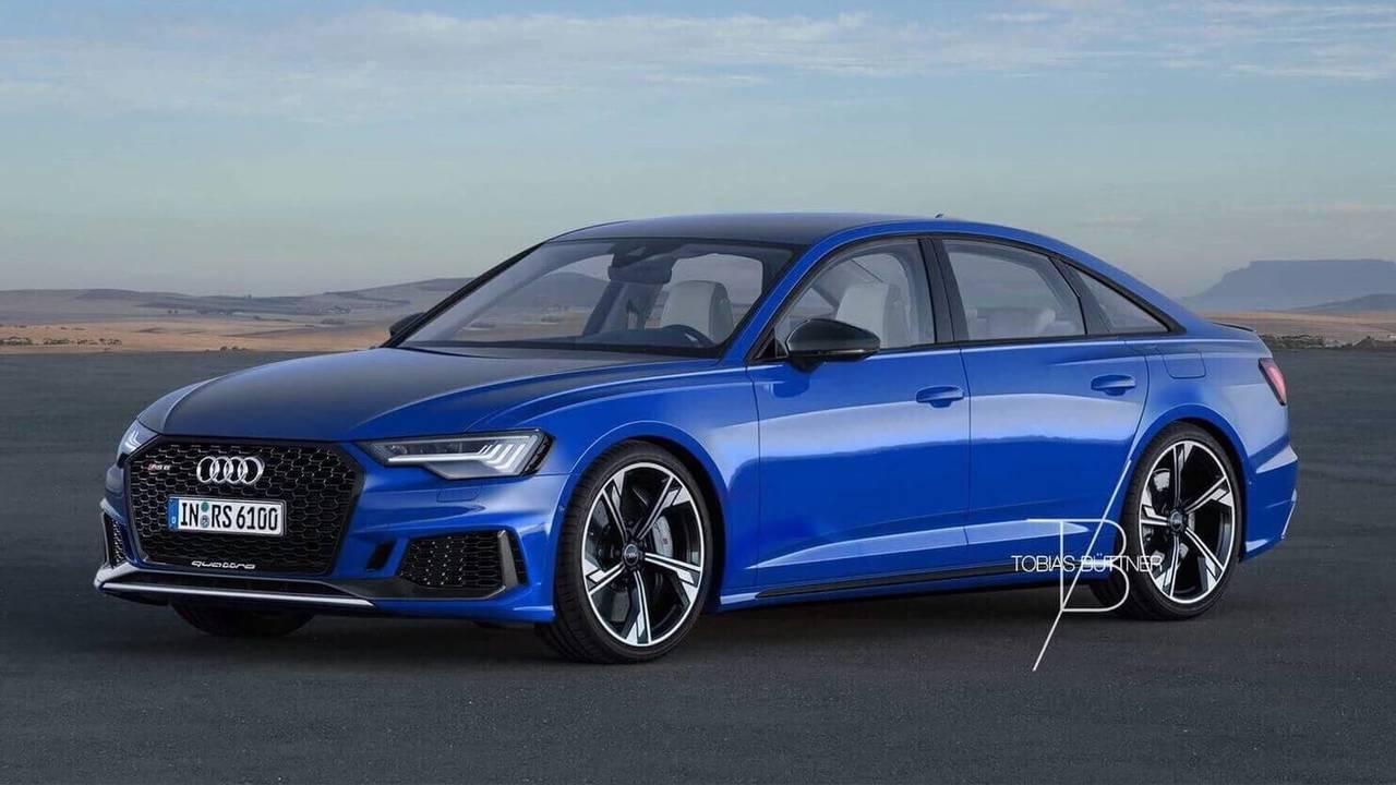 Audi RS6 Sedan render'ları
