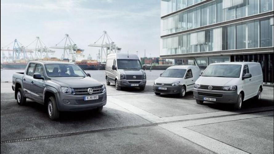 Vendite in crescita per i Commerciali Volkswagen