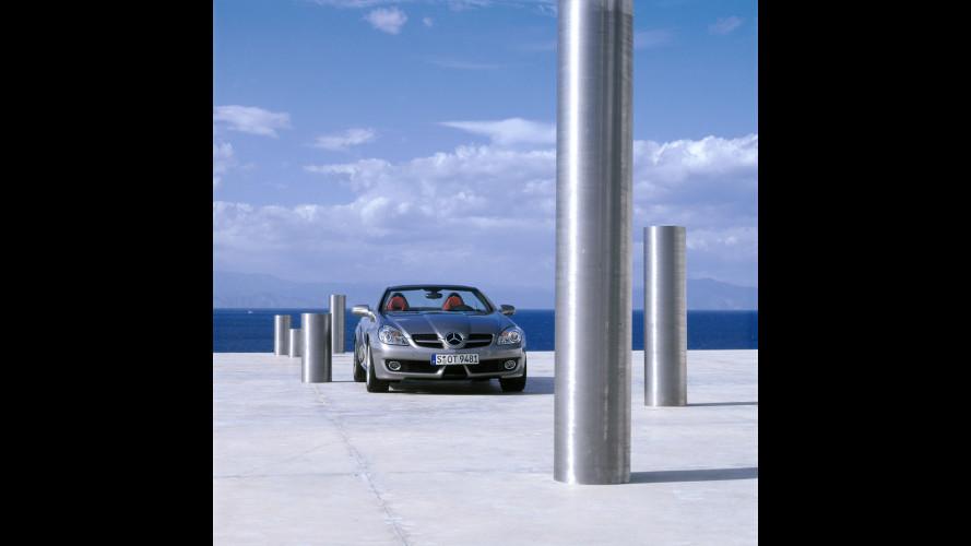Mercedes SLK restyling