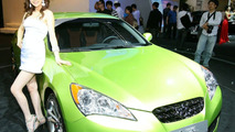 Hyundai Genesis Coupe Makes Korean Debut