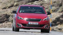 2015 Peugeot 308 GTI spy photo