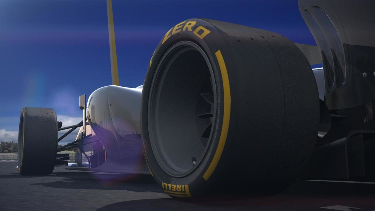 Pirelli future 18-inch tyre