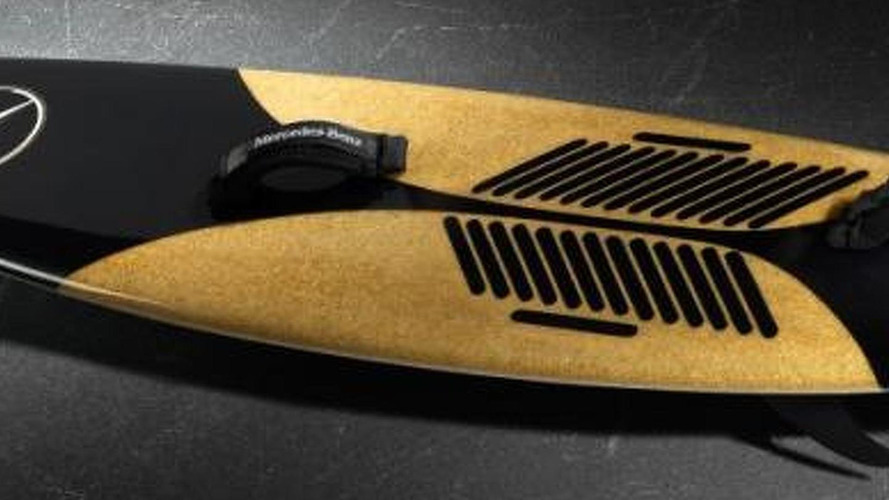 Mercedes introduces their new... surf board [videos]